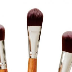 Poppy Sloane Bamboo Luxury Powder Trio Brush Set
