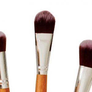 Poppy Sloane Bamboo Luxury Powder Trio Brush Set
